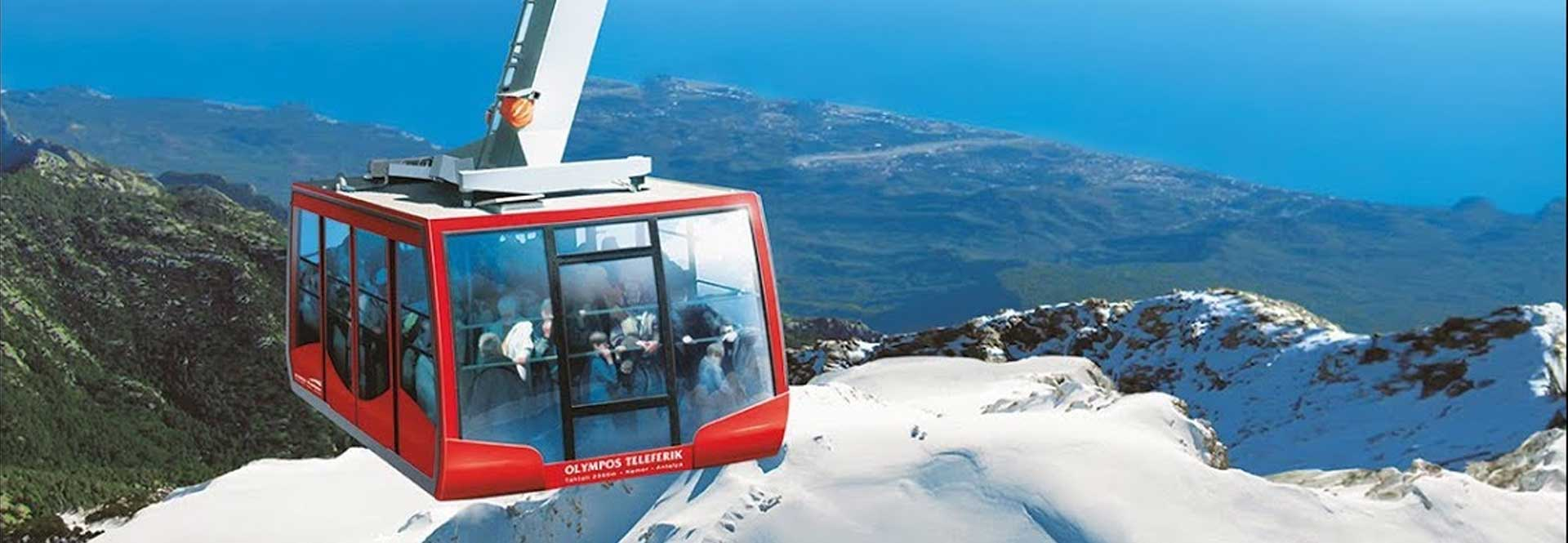 Cable car tekirova antalya